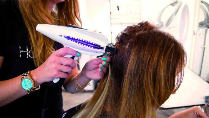 laserowe przedłużanie włosów