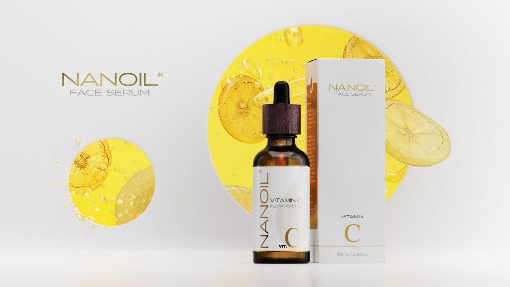 polecane serum do twarzy z witaminą c Nanoil
